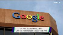 Google shareholders urged to protest executive pay