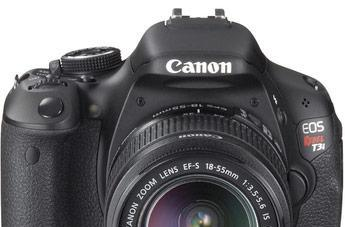 Canon trots out Canon Rebel T3 and Rebel T3i DSLR cameras