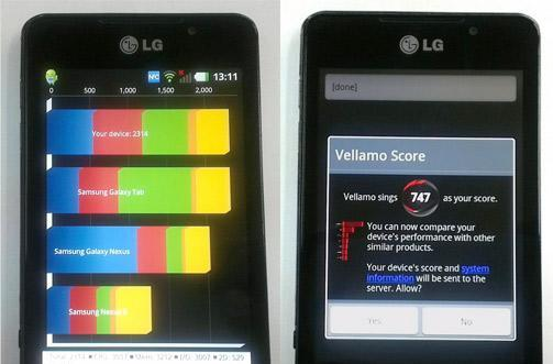 LG Optimus 3D Max wages dual-core war in benchmark tests