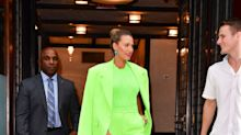 Blake Lively Just Wore a Highlighter-Green Versace Menswear Suit, and She Looks Incredible