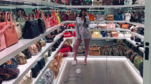 Kylie Jenner Shares New Video Tour of Her $$$ Purse Closet