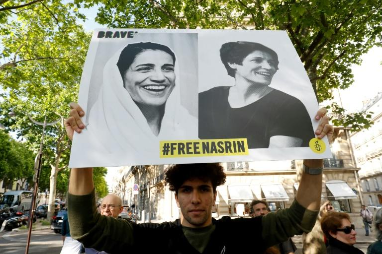 France 'very worried' for hunger-striking Iran rights lawyer