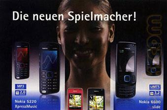 "Nokia XpressMusic 5800 ""Tube"" turns up in German poster"