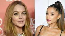 Lindsay Lohan throws major shade at Ariana Grande on Instagram