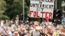 Bayern will bei Rechtsverstößen auf Querdenken-Demo in München hart durchgreifen