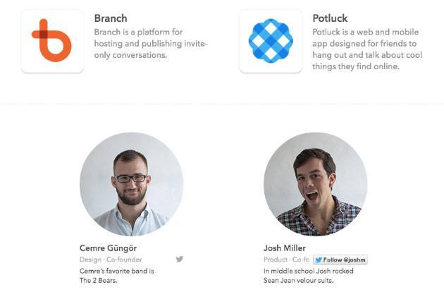 Facebook increases focus on 'conversations' with purchase of Branch and Potluck