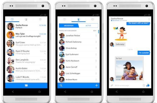 Facebook Messenger for Android lets you pin chats right to your home screen