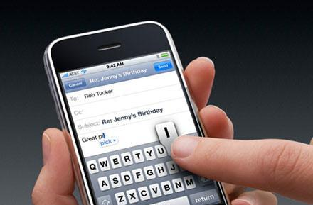 Apple facing patent lawsuit over iPhone keyboard