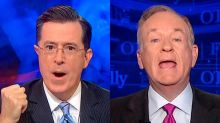 O'Reilly Attacks Colbert's High Ratings as Trump Hate