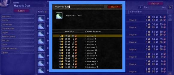 Gold Capped: Improving the default auction house interface