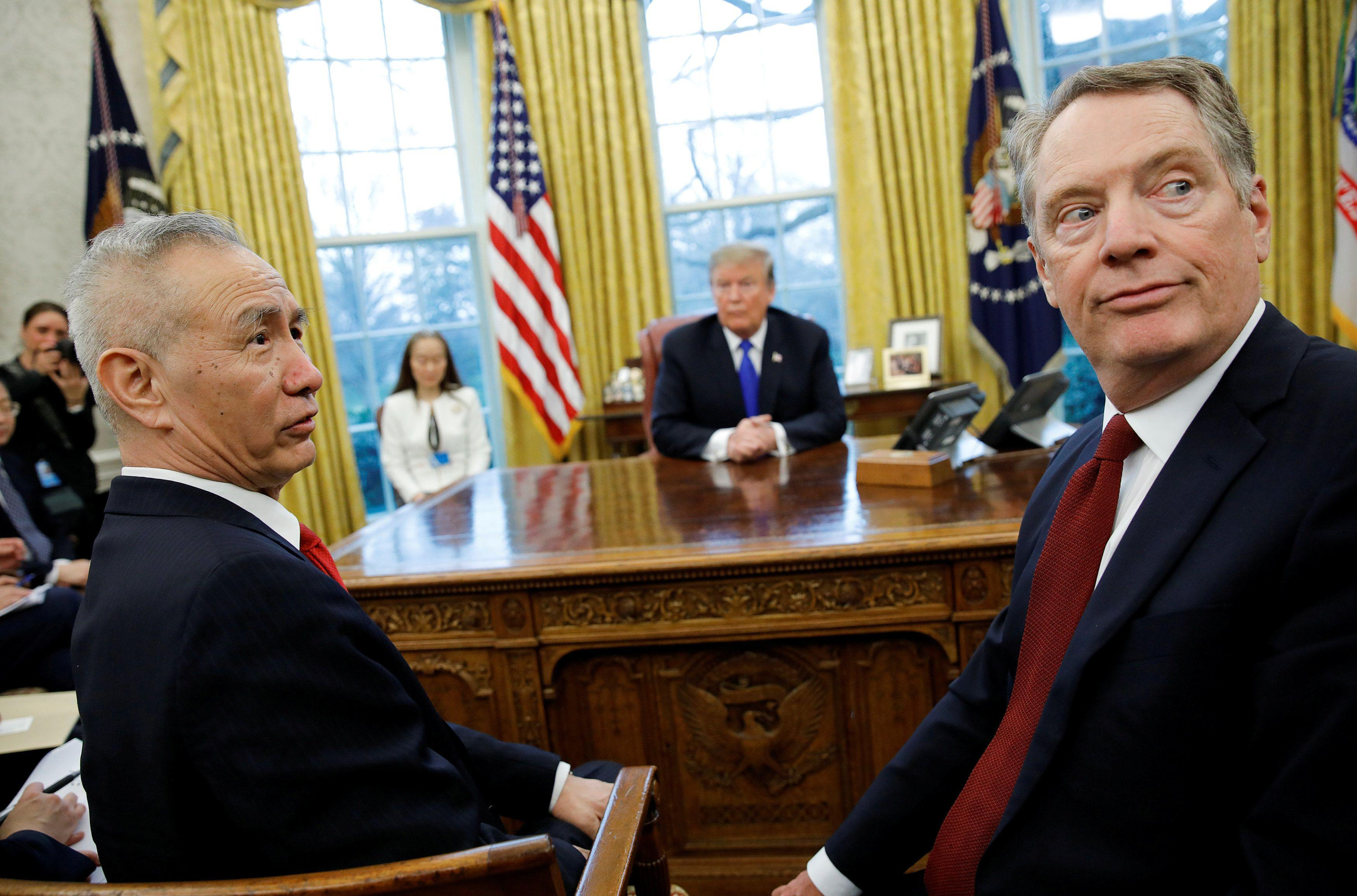 Lighthizer testifies before Congress on trade with China