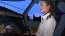 'The perception was women didn't fly aircraft'