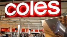 Coles customer shocked as Masterchef knife snaps
