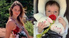 Laura Neiva publica foto para festejar primeiro mês de Maria