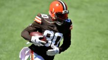 Jarvis Landry, four Browns OL questionable for Thursday night