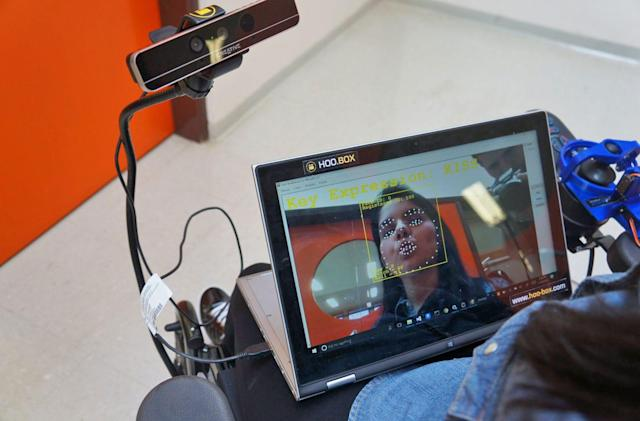 Behind the quest to control a wheelchair with a smile
