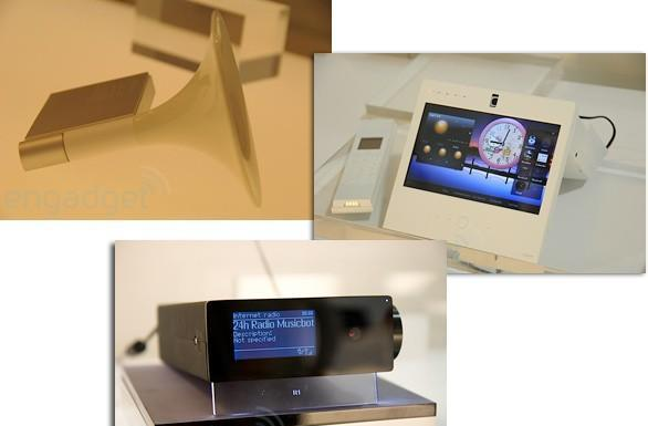 iriver's gramophone speaker, UNIT2-S, and R1 concepts do impress