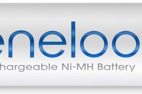 Sanyo Eneloop batteries good for 1,500 recharges, maintain 70% charge even after 3 years in storage