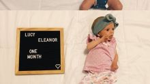 Una madre comparte fotos de la pérdida de peso de su bebé tras un problema de lactancia