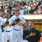 First MLB Player Takes A Knee During National Anthem