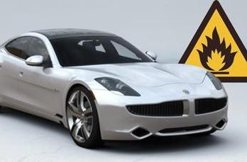 Fisker completes investigation of latest Karma hybrid EV fire, issues vehicle-wide cooling fan recall