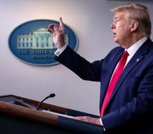 Trump news – live: President threatens to stop funding WHO for 'missing' pandemic and claims 'desperate' UK requested 200 ventilators