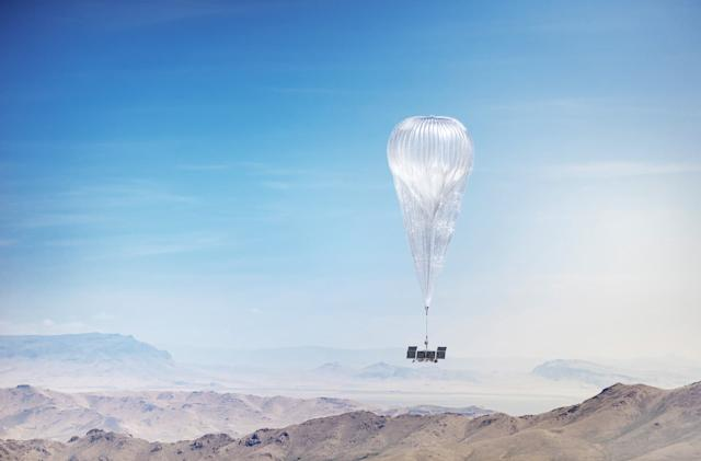 Google AI is now piloting Loon's internet-beaming balloons