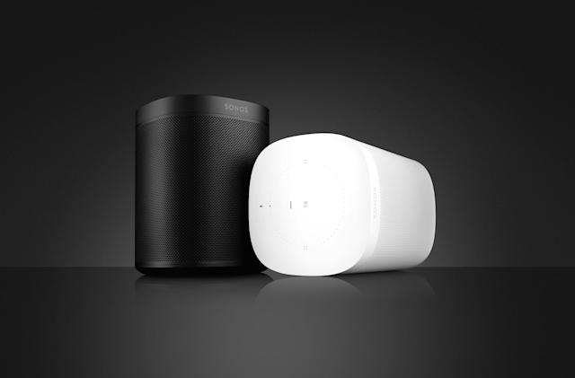 Sonos One is the company's first speaker with built-in voice control