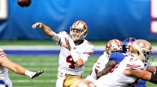 Nick Mullens tied a Joe Montana franchise passing record in 49ers' Week 3 win