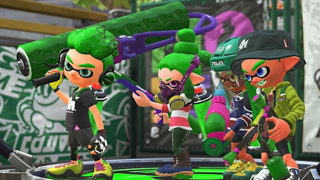 'Splatoon 2' preview arrives on Nintendo Switch in March