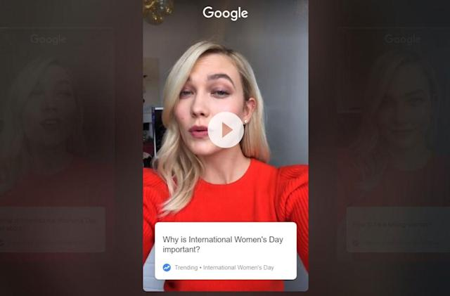 Google's latest iOS app is built for celebrity Q&A
