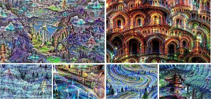 Facebook and Google get neural networks to create art