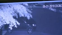 Surveillance video captures 2 shooters firing at each other outside Airbnb house party