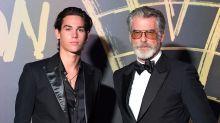 Pierce Brosnan's Son Paris, 18, Walks the Runway During London Fashion Week
