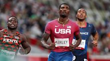 Team USA Sprinter Fred Kerley Wins Silver Medal in Men's 100m Race