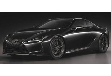 【新車登場】黑色旋風!LEXUS旗艦GT跑車LC Limited Edition