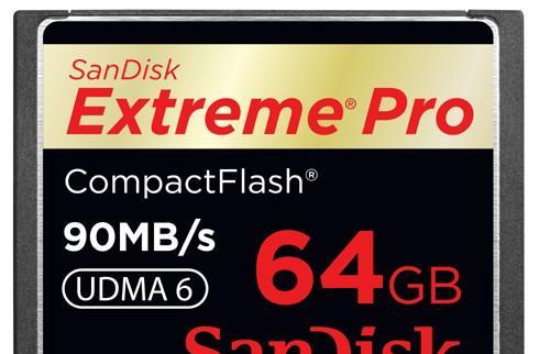 Video: SanDisk Extreme Pro CompactFlash card does 600x, the hokey pokey