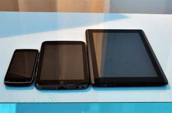 Acer's Android tablets hands-on!