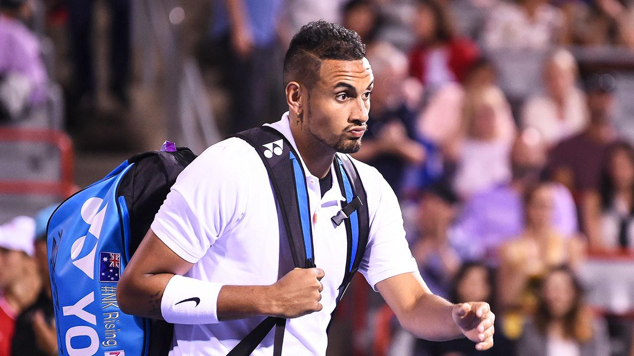 Rival's words of encouragement for 'super nice' Nick Kyrgios