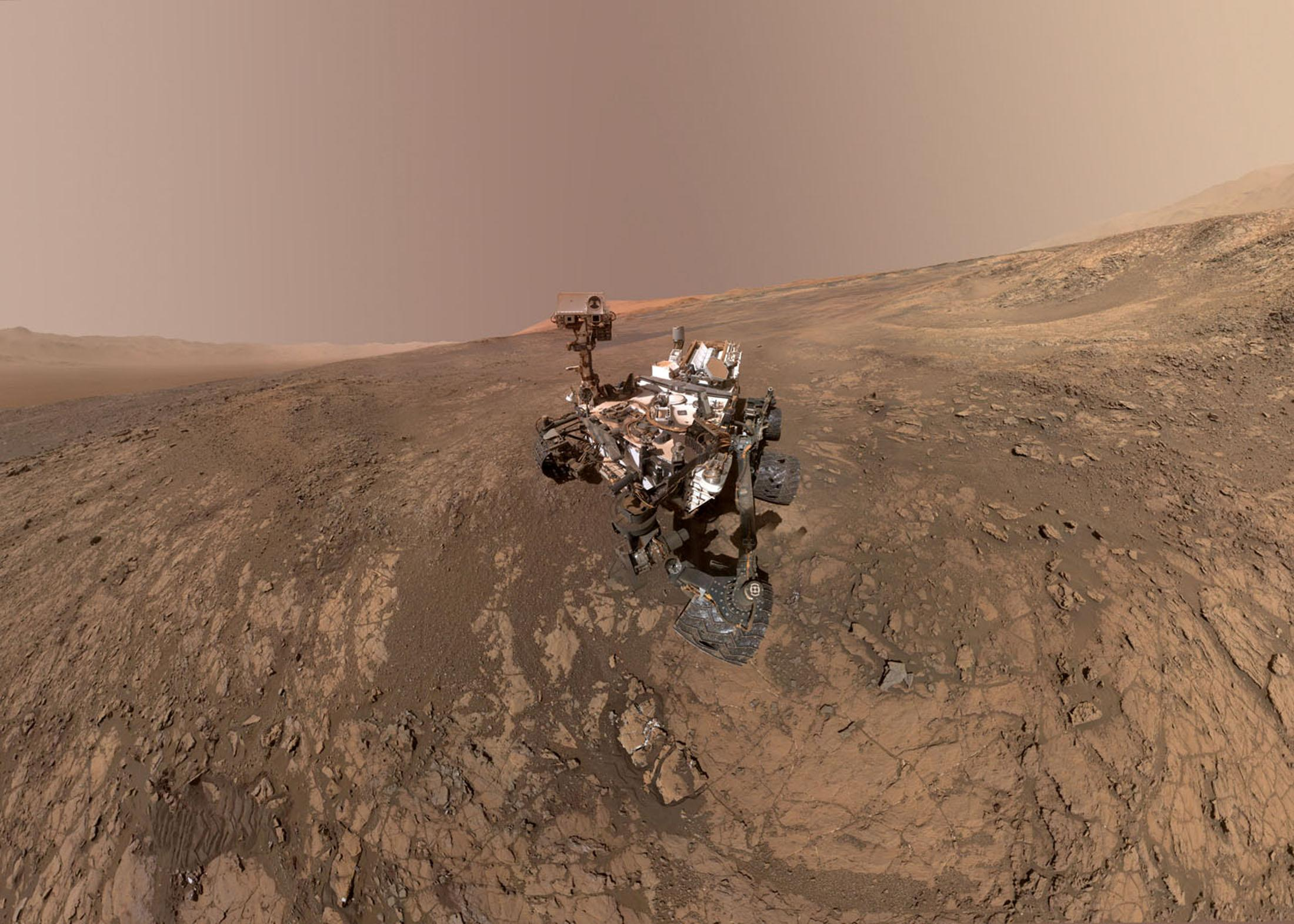 Mystery of sudden methane 'plume' detected by NASA Mars rover - Yahoo News image
