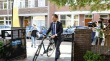 Mark Rutte, the Dutch PM cycling into EU headwinds