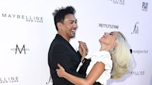 These Photos of Lady Gaga Dancing With Her Hairstylist Frederic Aspiras on a Red Carpet Are Delightful