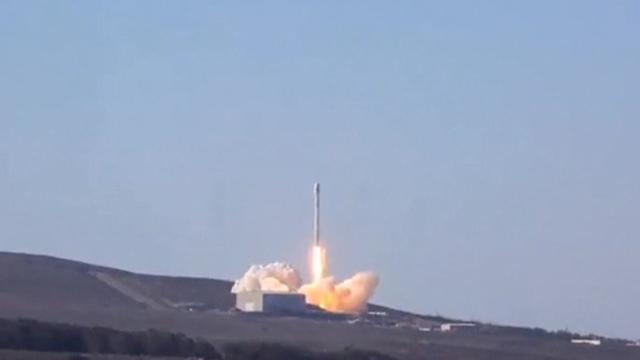 SpaceX prepares to launch satellite