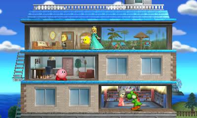 Tomodachi Life stage lets you live inside Super Smash Bros.