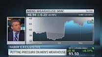 Eminence CEO pressuring Men's Wearhouse