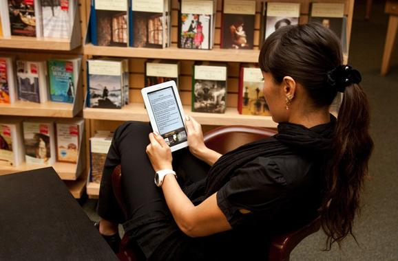 Ebooks making libraries popular again, can do nothing about your 80s scrunchie