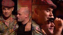 Robbie Williams canta 'Angels' junto a un fan en X Factor
