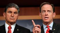 Toomey, Manchin discuss gun law deal