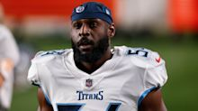 Titans' Rashaan Evans, Mike Vrabel react to LB's ejection