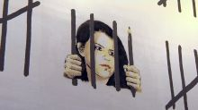 Banksy protests imprisonment of Turkish artist